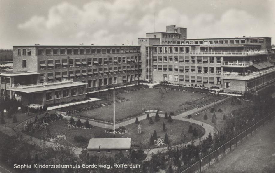 Historie Sophia Kinderzoekenhuis